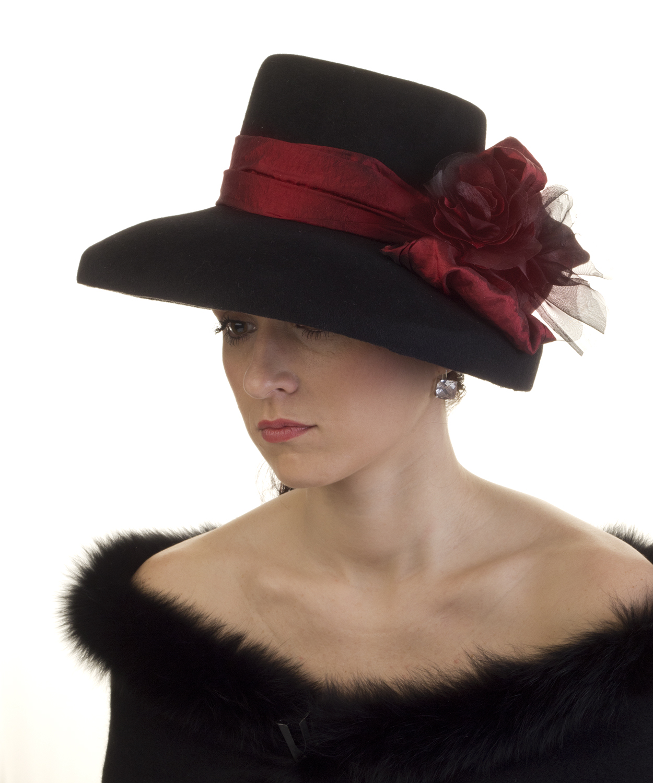 Anglický klobouk